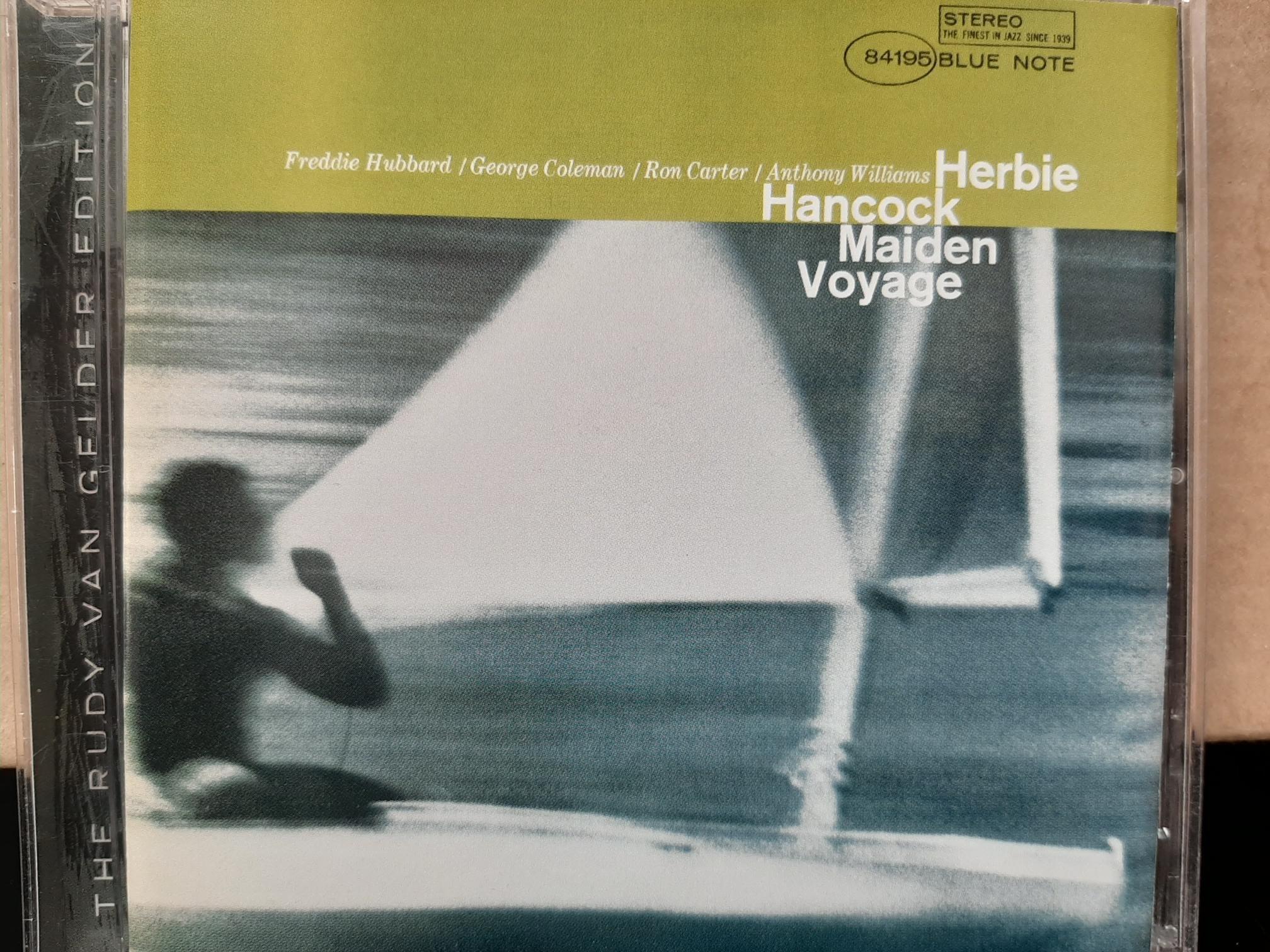 Herbie Hancock~Maiden Voyage,胡比漢考克~處女航。