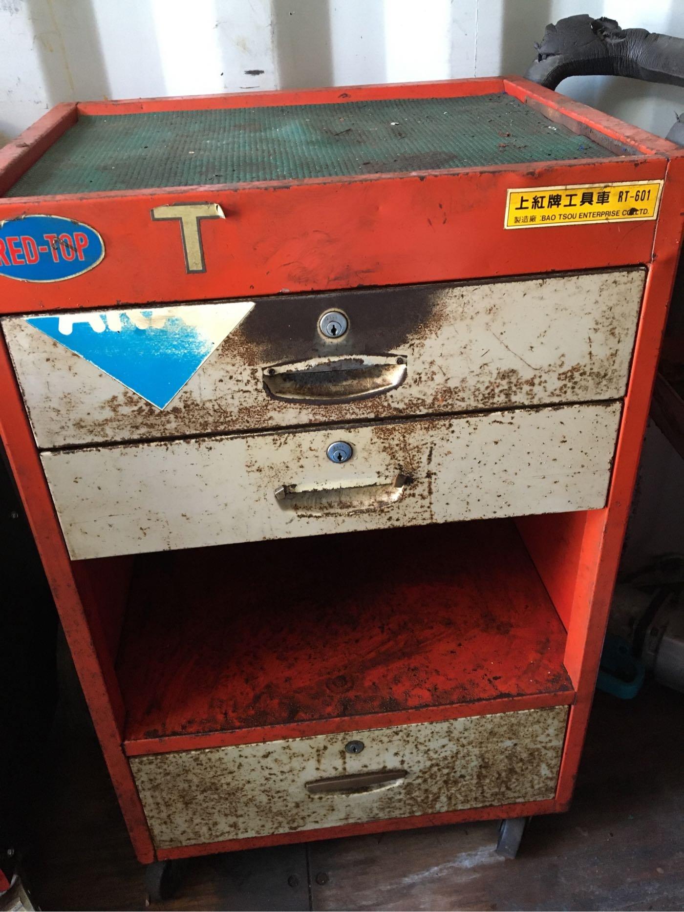 工具車 五層三抽屜式 收納 手推車 二手  汽車 機車 中古 修理廠 出清