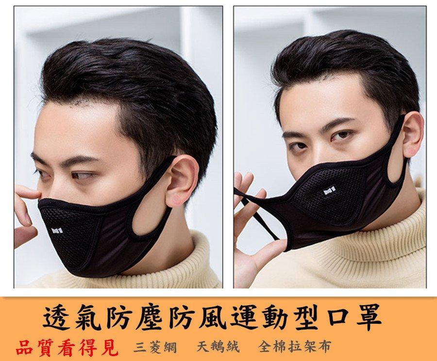 3D立體運動口罩 黑色口罩 活性碳口罩  防塵口罩 重覆使用口罩 明星款口罩 非醫療用口罩