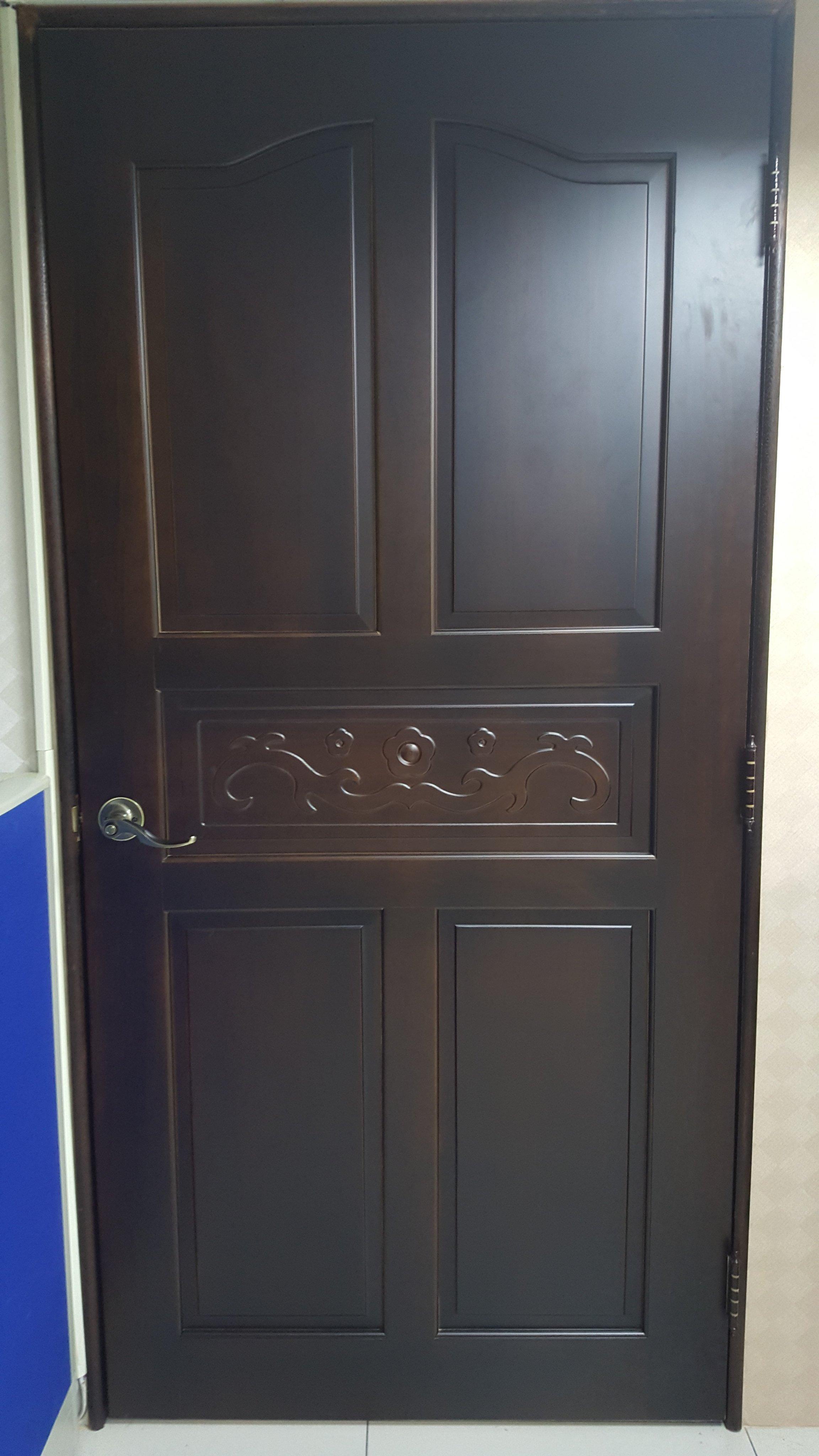 實木門板/ 實木門片/ 門板 /房間門/木門拉門/ 隔間門/和室門 (中古二手售)含門把及鑰匙*2~9成新