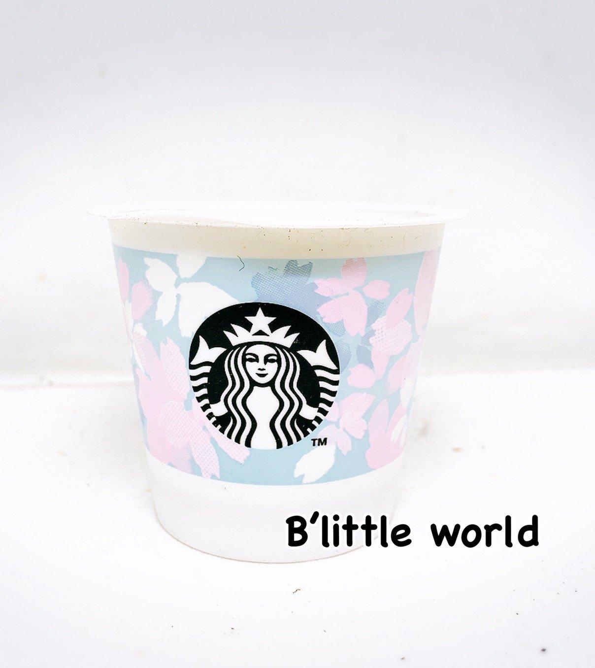 *B Little World * [現貨]日本限定星巴克布丁杯/春季櫻花/東京連線