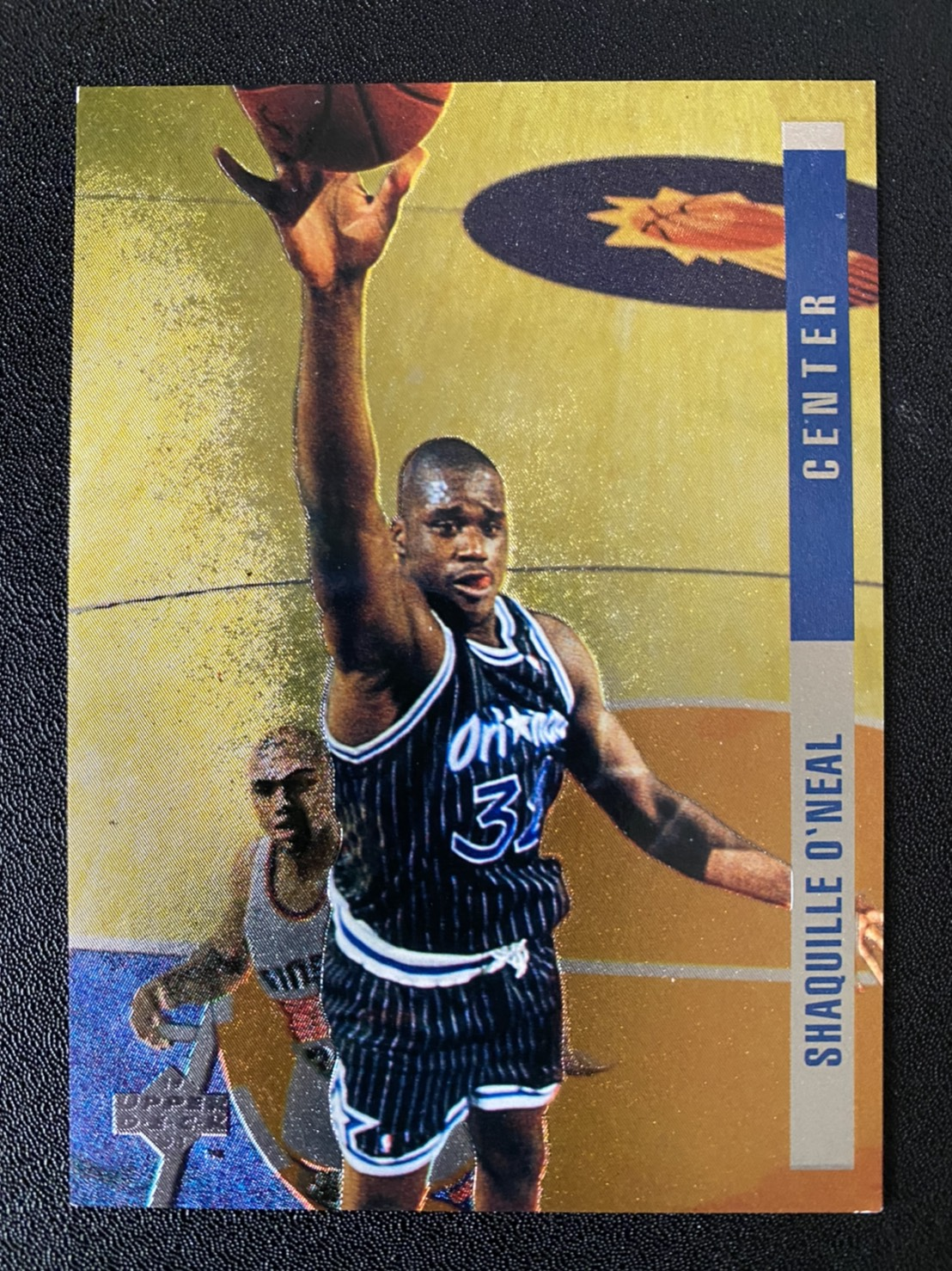 Shaquille ONeal 1993-94 Upper Deck SE Behind the Glass #G13