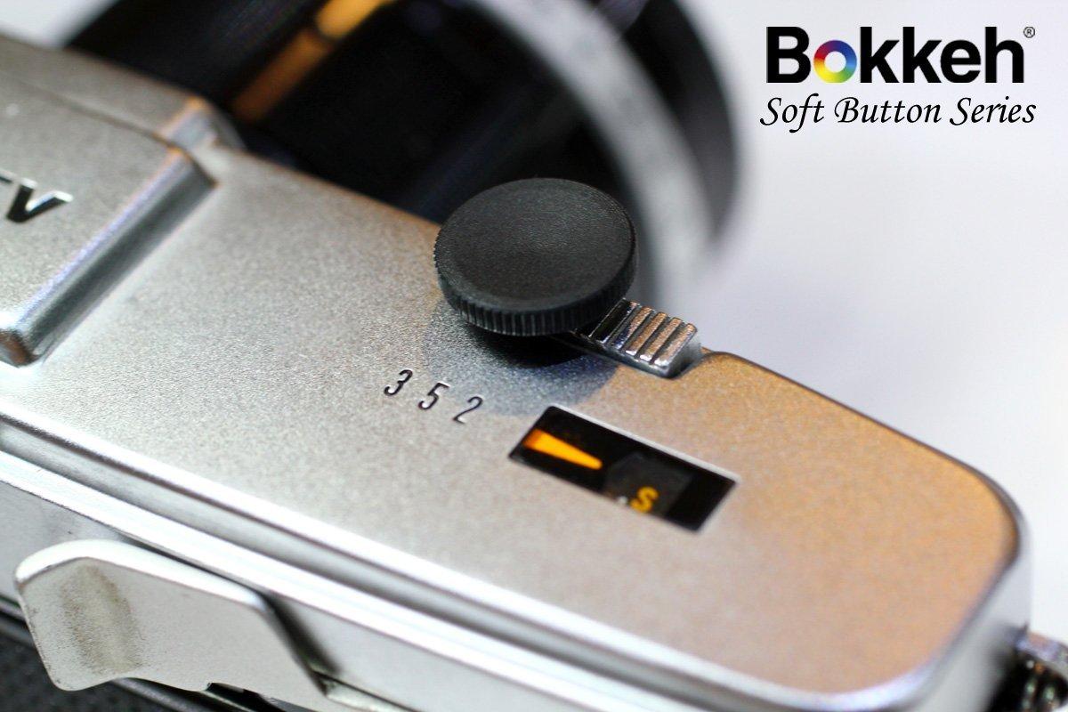 [享樂攝影] 傳統單眼機械相機快門鈕 12mm 黑 凹面 外接快門按鈕 手動相機 Lomo相機 螺孔式快門皆