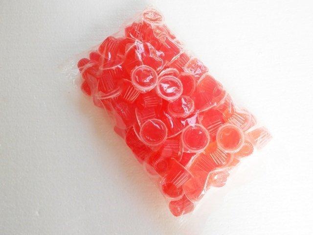 微笑的魚水族☆Insect Man【甲蟲】【IM 昆蟲果凍 水果口味 草莓(16g)100粒(散售)】