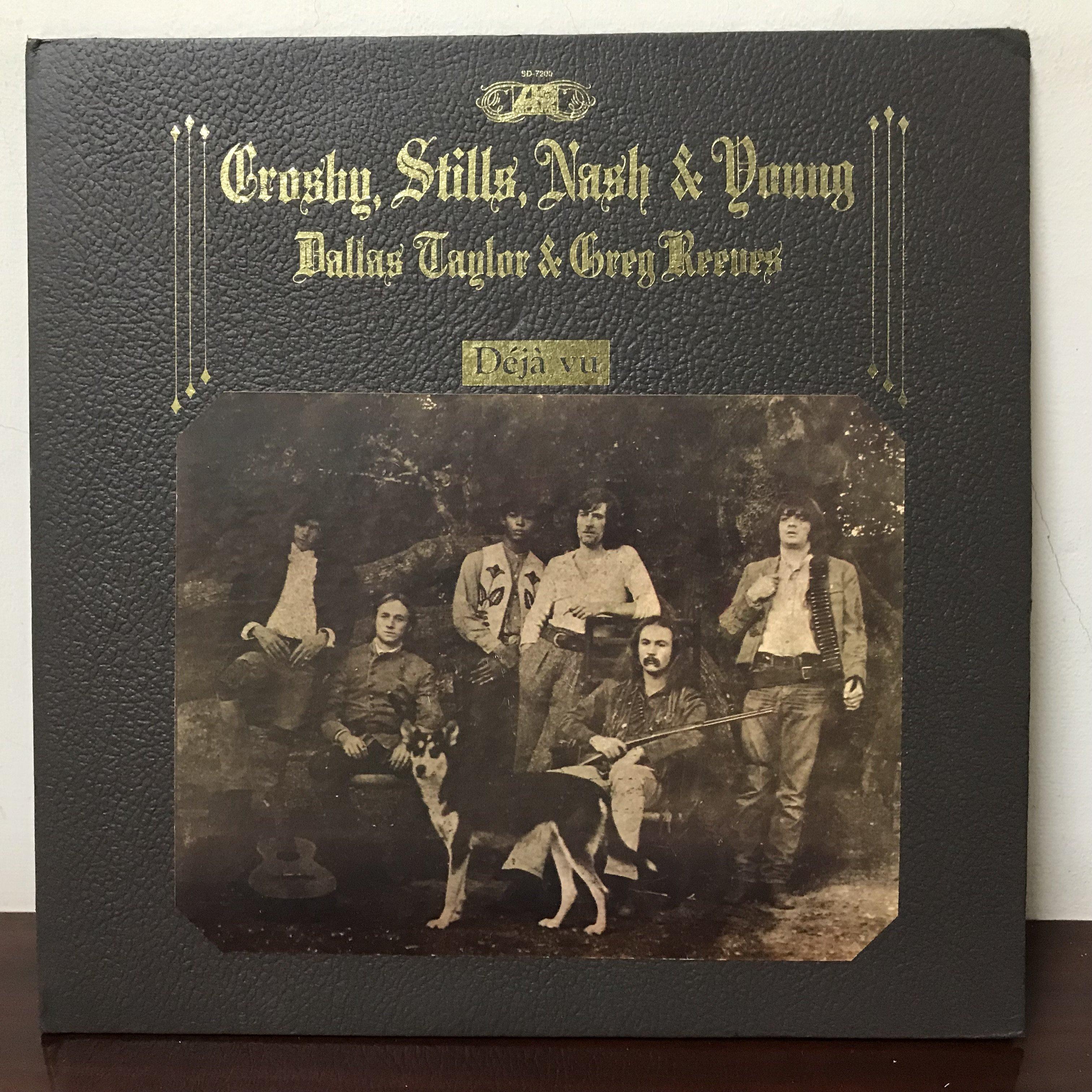 晨雨黑膠【西洋】※搖滾500大第147名※ 美版/Crosby,Stills,Nash&Young – Deja Vu