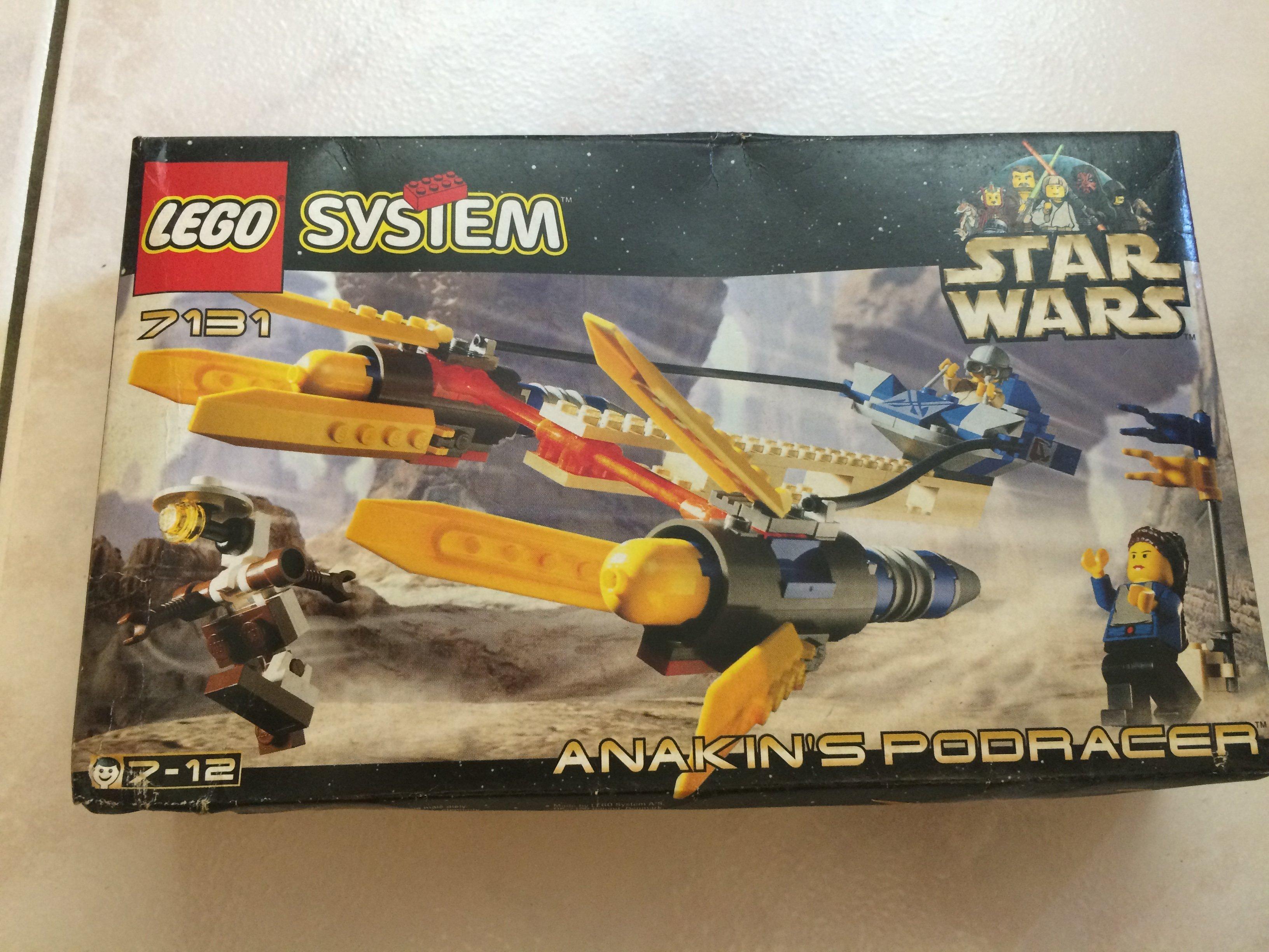 絕版 Lego 樂高 星際大戰 7131 Anakins Podracer 全新