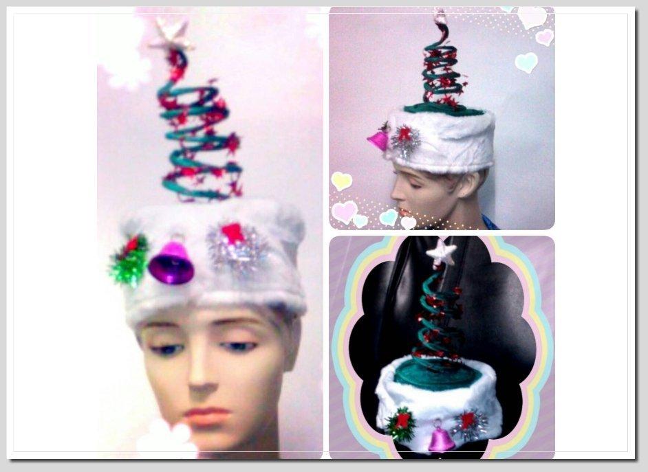 [美聯企業] 彈簧聖誕帽【綠色】《整組2頂100元》(聖誕節用品 表演道具 迎新趴 變裝 聖誕節帽子 耶誕帽 耶誕節)