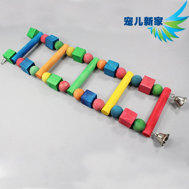 雜貨小鋪 鳥玩具 鸚鵡玩具用品 鳥籠 梯子玩具 鸚鵡攀爬梯鸚鵡秋千T030