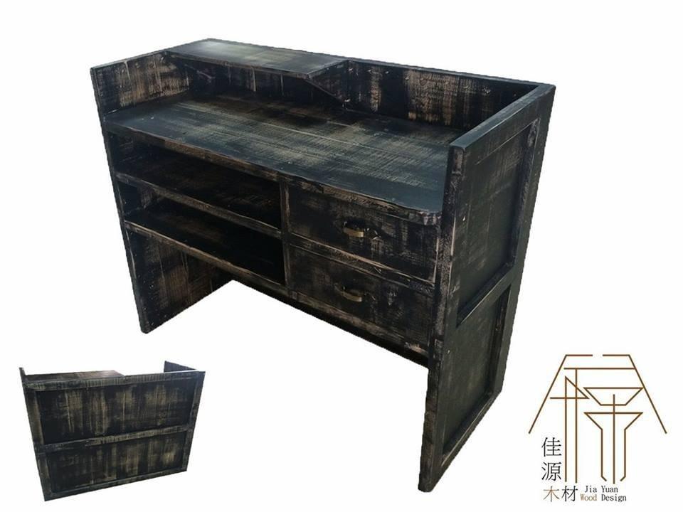 佳源 櫃檯 醬料 中島 棧板 木箱 手作 咖啡 訂做 客製 木材 實木 原木 鄉村 工業 仿舊 仿古 傢俱