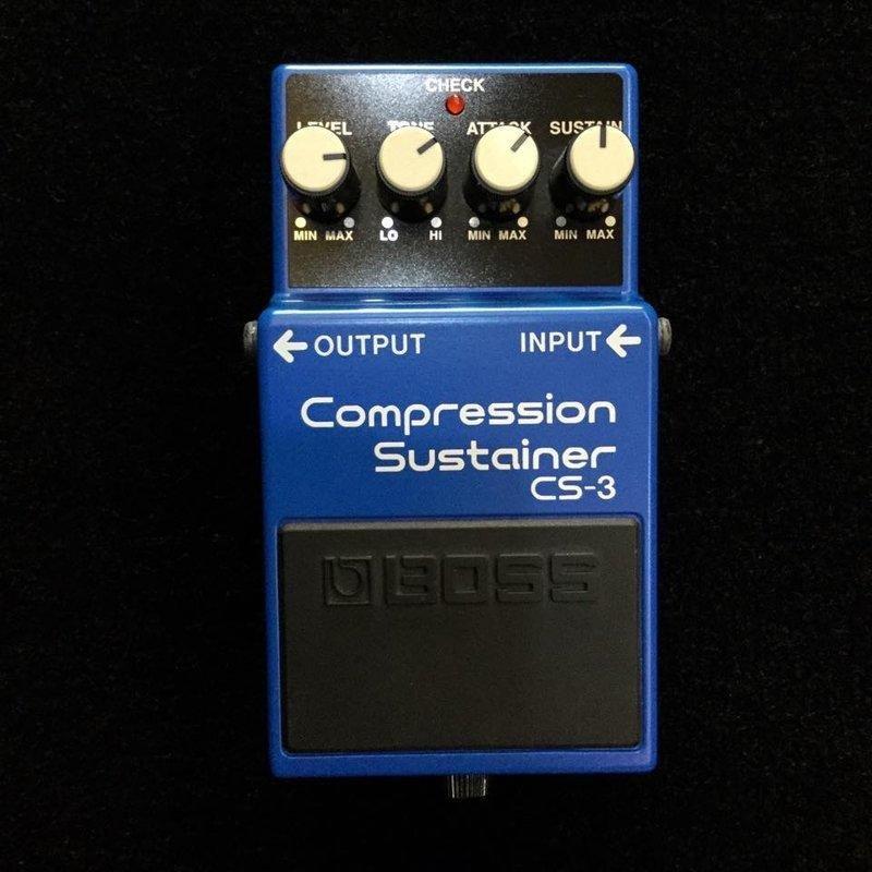 絕地音樂樂器中心 BOSS CS-3 Compression Sustainer 壓縮延音 效果器