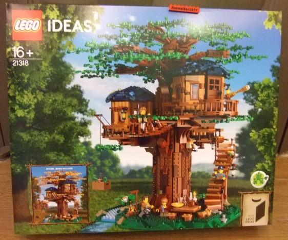 【積木1977】樂高Lego- IDEAS 全新未拆 21318 樹屋