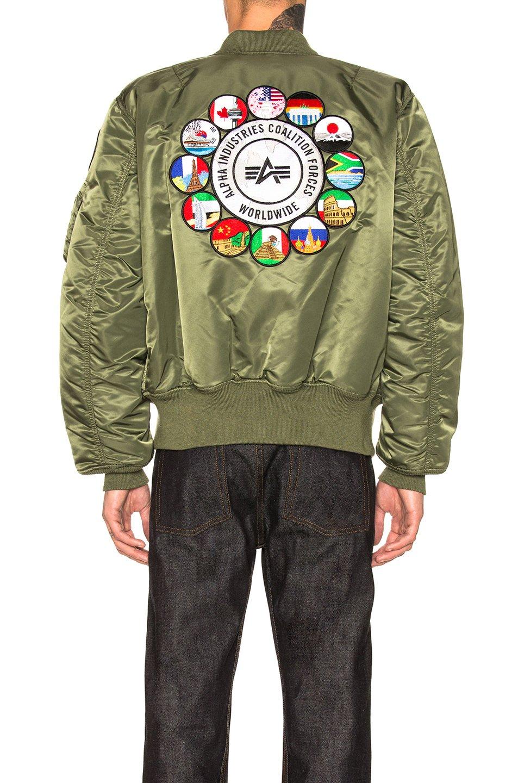 【YOYOGI PLUS】ALPHA COALITION FORCES FLIGHT JACKET 聯合國 飛行外套