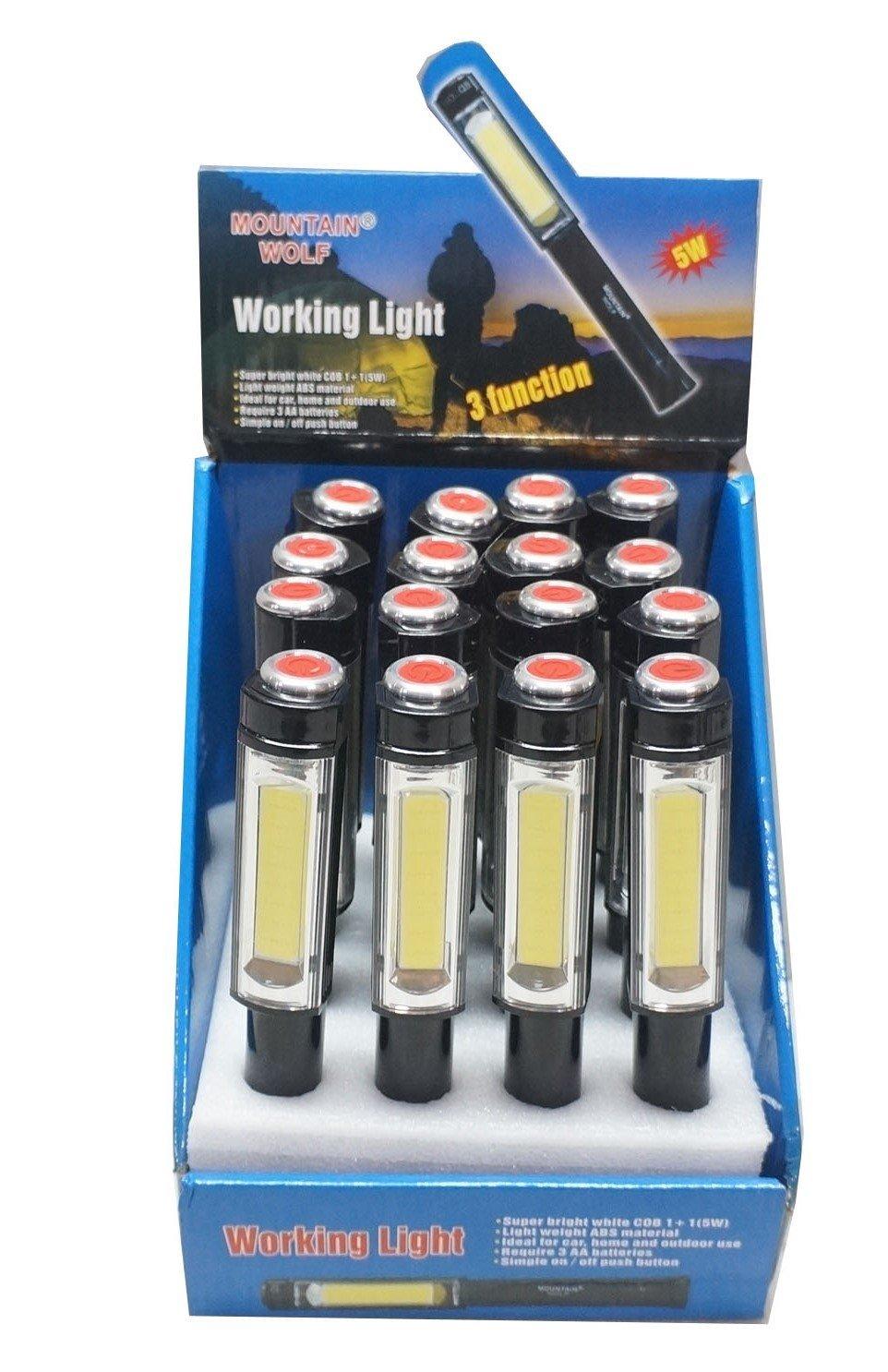 佳佳玩具 ------ 磁吸 LED 紅白燈 可吸磁鐵 工作燈 腳踏車警示燈 3段式 手電筒 單入【YF14319】