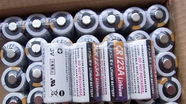 【新奇屋】Lithium CR123A 電池 3.0V 相機電筒無線電等使用