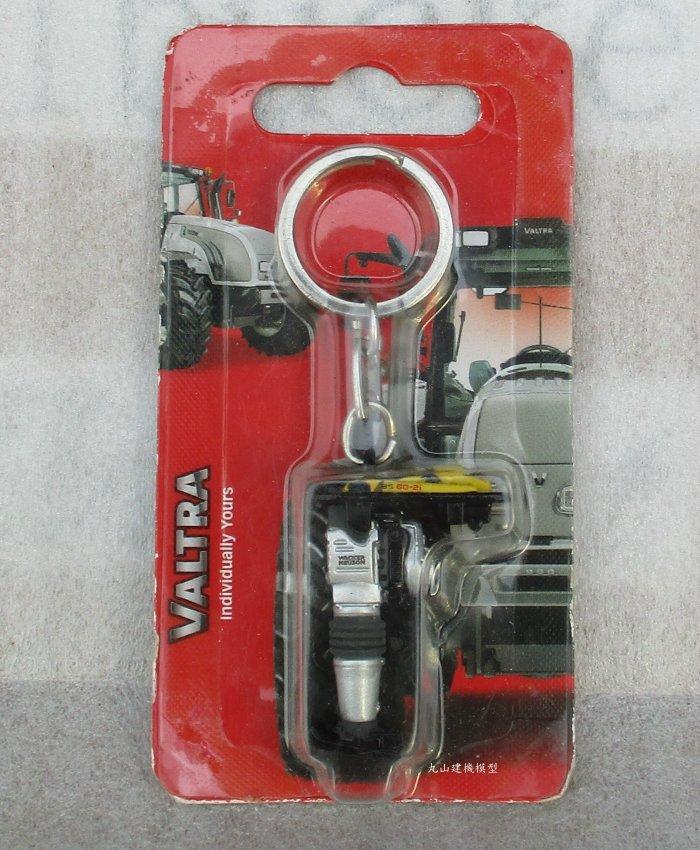 [丸山建機模型店] - - -手推式震動壓平機鑰匙圈模型---不對盒