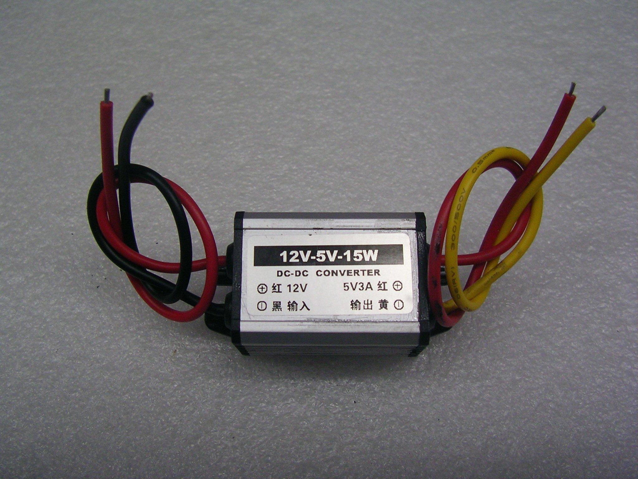 【大台北液晶維修】電源降壓模組  直流8V~20V轉5V 汽車 機車 3C