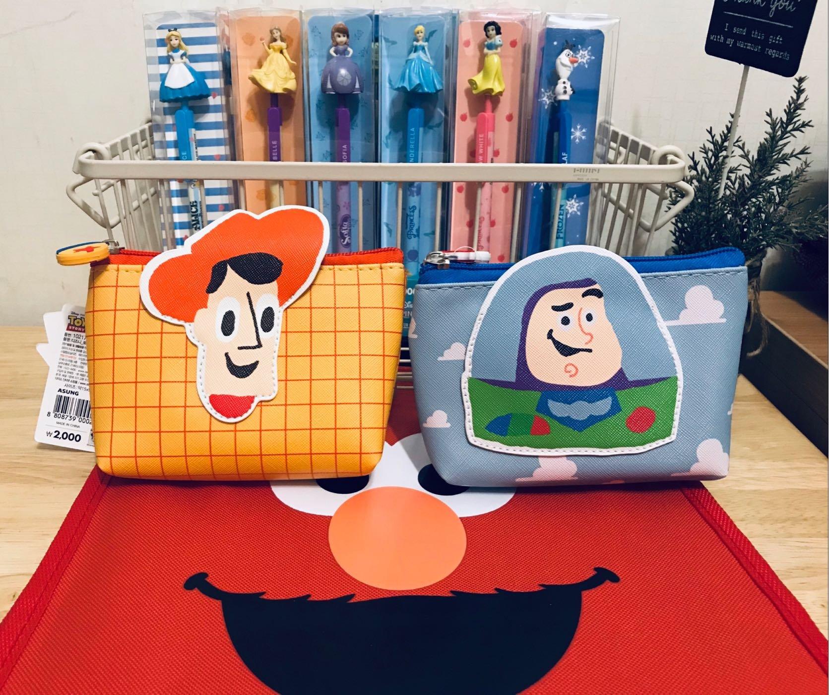 迪士尼 Disney 玩具總動員 toy story 收納袋 零錢包 小物收納