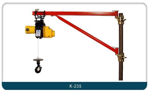 WIN 五金 K-235 鷹架用 吊架 捲揚機 高樓小吊車 小金剛 電動吊車 捲揚機吊架 女兒牆 立架 夾架