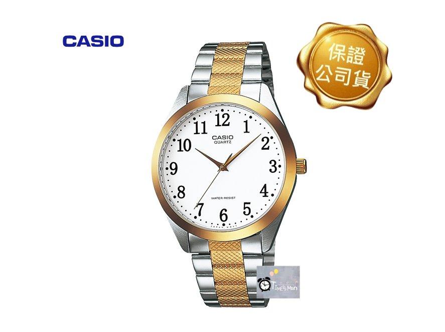 [時間達人]CASIO卡西歐復古石英錶 阿拉數字 標準型 MTP-1274SG-7B 生活防水 台灣卡西歐保固一年 送禮