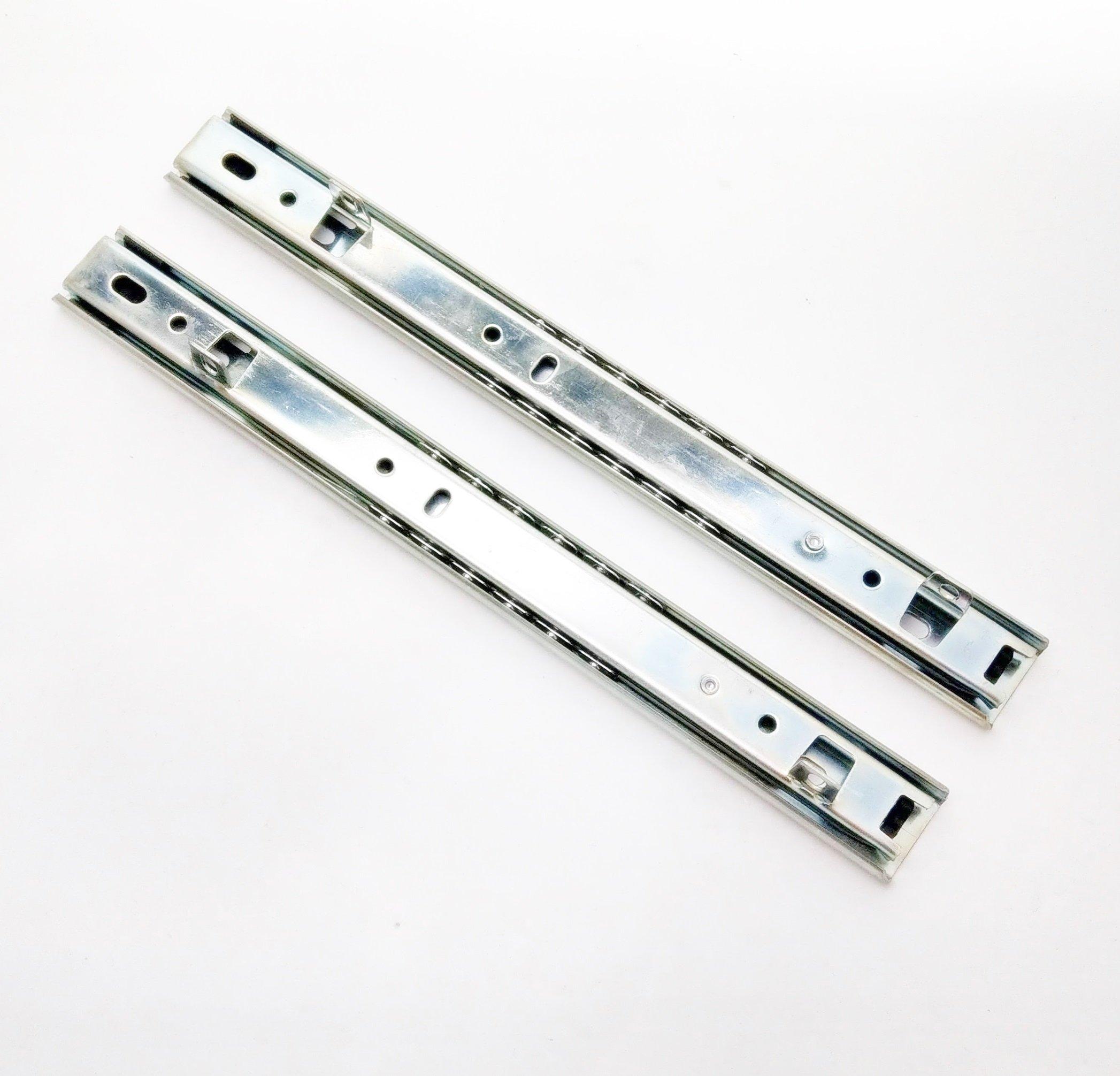 250mm 10  2截 鋼珠滑軌 抽底 可拆 滑軌 抽屜