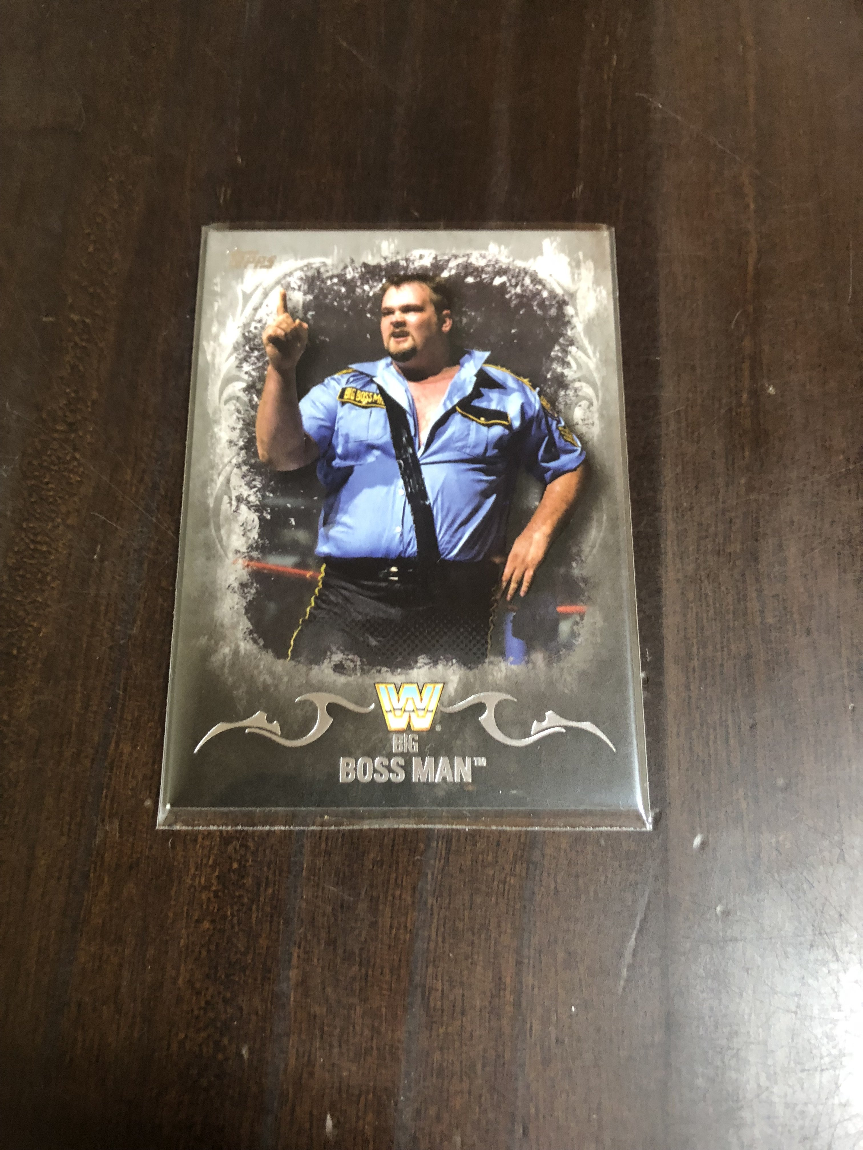 BIG BOSS MAN WWE  職業摔角選手卡  限34/50