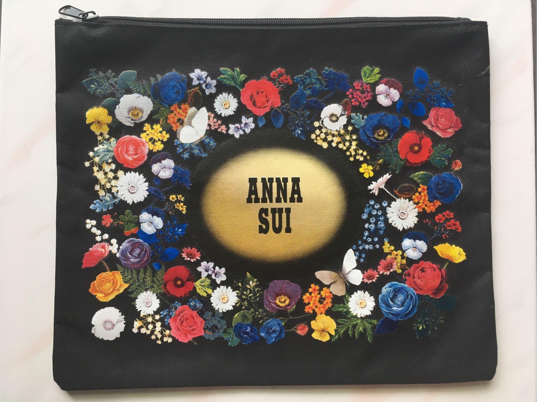 ANNA SUI 拉鍊資料包/夾