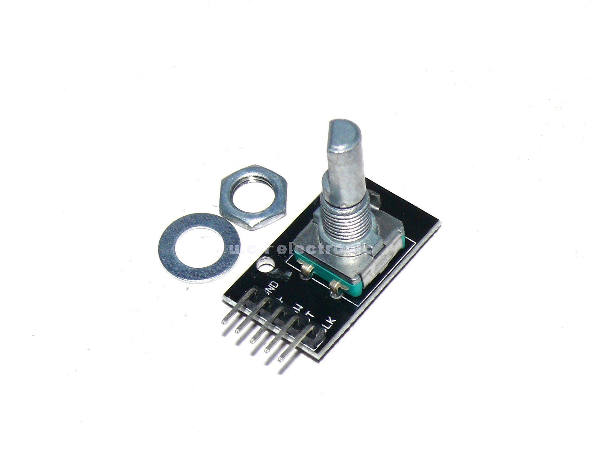 【UCI電子】(10-10) 360度 旋轉編碼器模組 KY-040