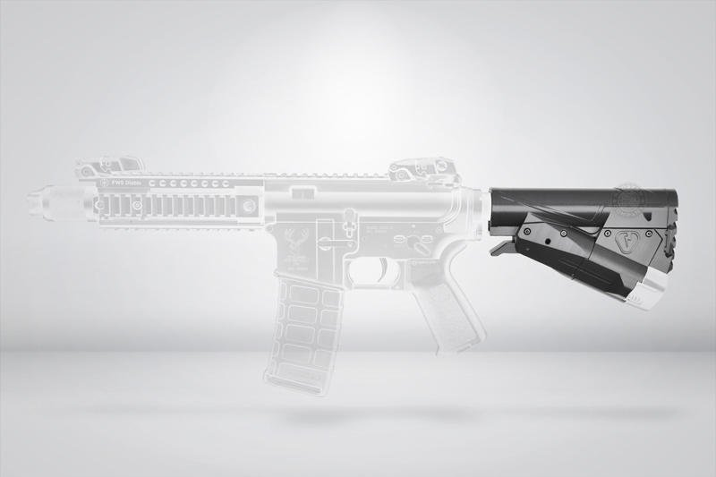 [01] AENE 戰術 後托(電動工具 電鑽 電池 鋰電 快拆BB槍卡賓槍步槍玩具槍AEG AR M4 M16 416
