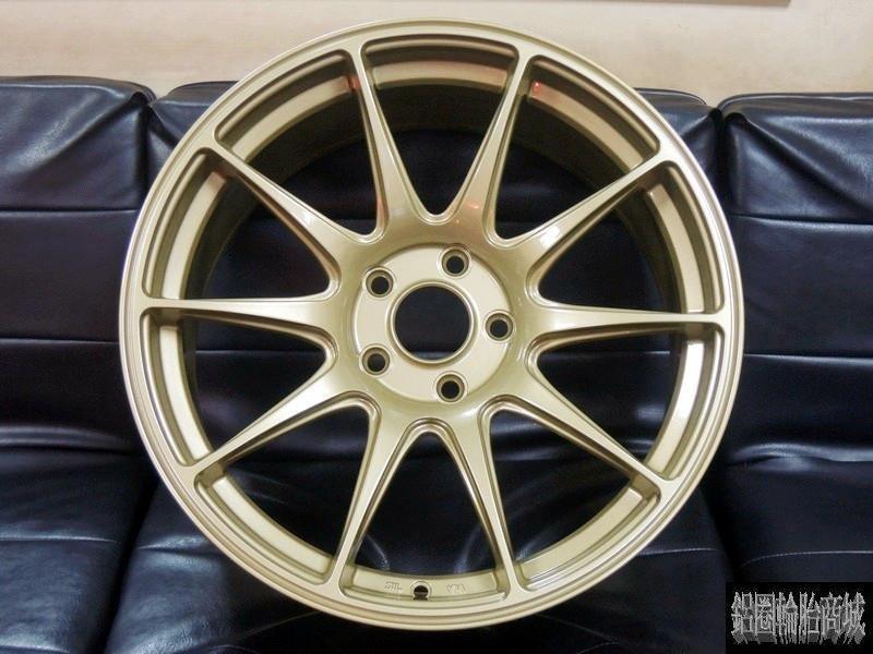 全新鋁圈 美國品牌 正 XXR 527 17吋 5孔114.3~100 / 4孔100~114.3 金色 8.25J