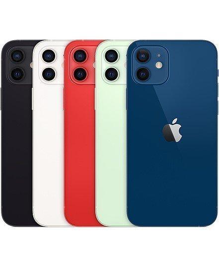 蘋果Apple iPhone 12 64G--128g--6.1吋智慧型手機--i12蘋果手機--5G手機--公司貨--
