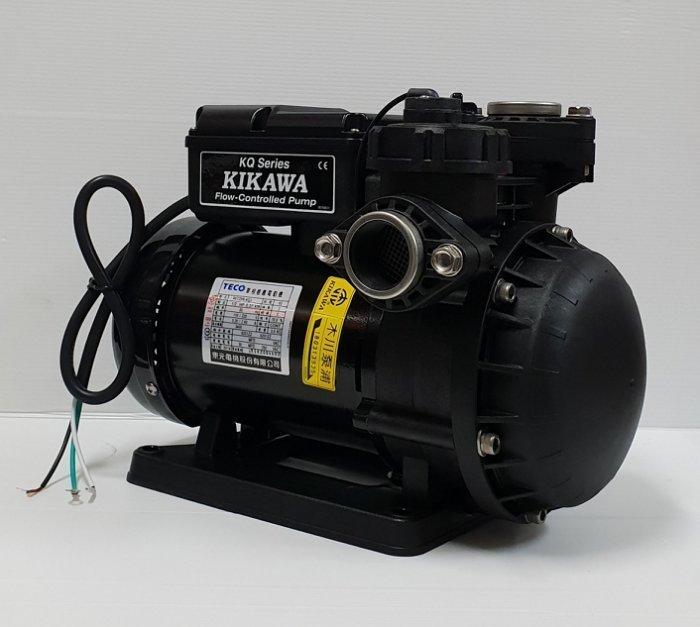 ╭☆優質五金~木川經銷商☆╮東元KQ200NC*電子穩壓不生鏽加壓馬達『順水流控型加壓機』非KQ200N