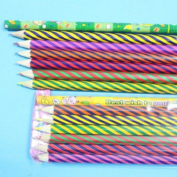 單支雙色色鉛筆 6 1支入約12色混色色鉛筆 一袋10包入{促20}~庫存 不挑色~錸