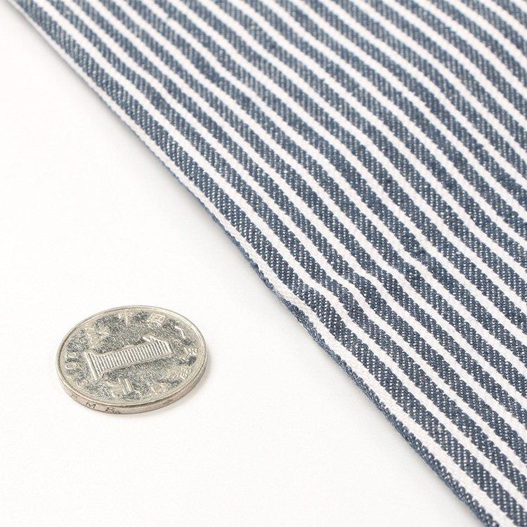 雜貨小鋪 精致厚實棉布條紋牛仔布純棉面料 DIY布藝包包布料 中 2件 起購