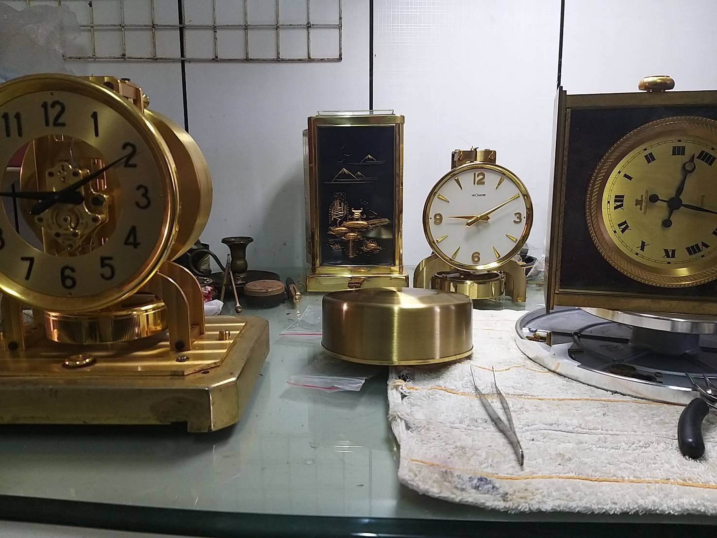 ATMOS 瑞士空氣鐘 400日鐘保養 修理 機械鐘維修