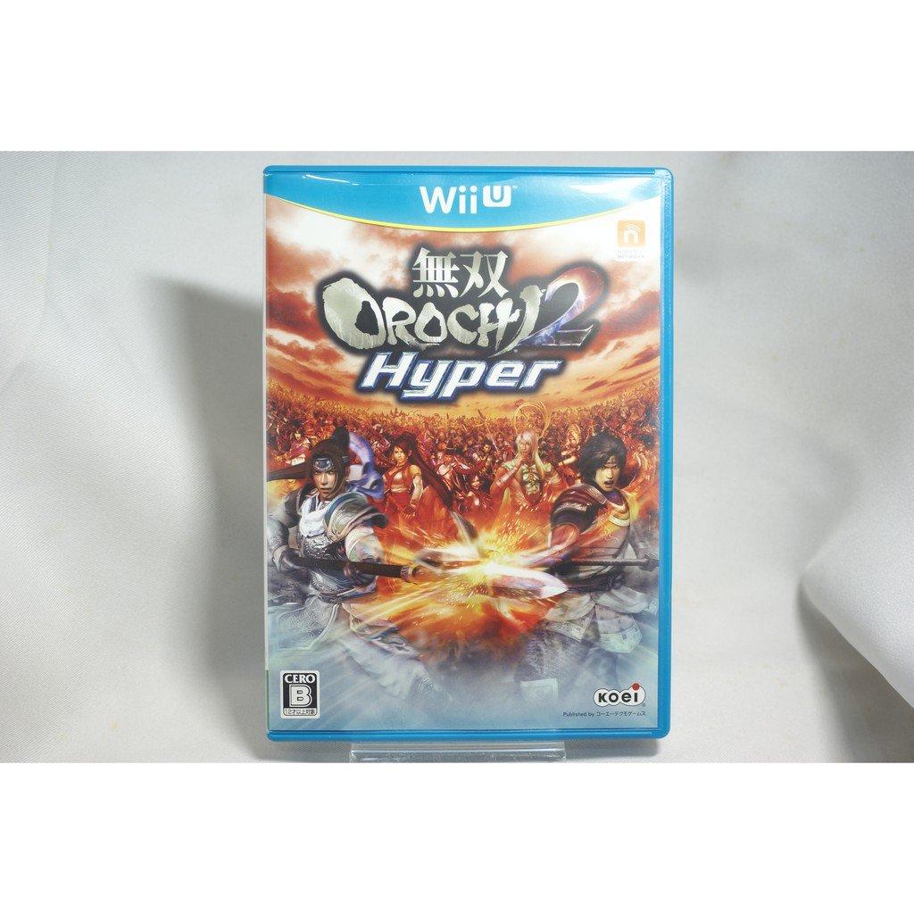 [耀西]二手 純日版 任天堂 Wii U WiiU 無雙 OROCHI 蛇魔 2 Hyper 含稅附發票