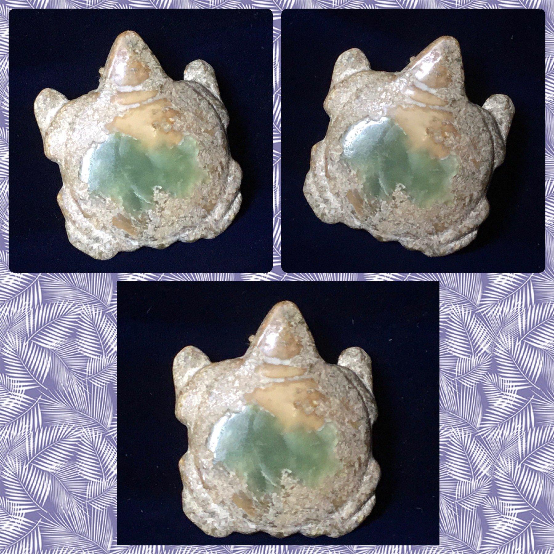 【錦福齋】 紅山文化《玉龜》。紅山文化/良渚文化