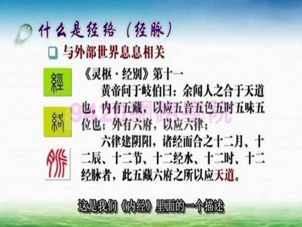 【9420中醫-5014】走進經絡的世界 講座教學影片(MP4影片格式) - (5堂課 上海中醫藥大學) 288元!