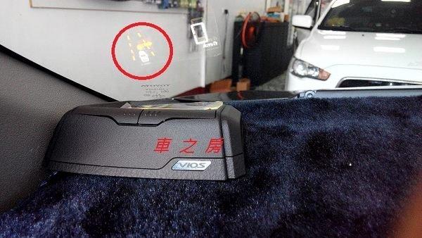(車之房) TOYOTA 3代 NEW YARIS 導航主機型HUD 抬頭顯示器 時速顯示 定點測速