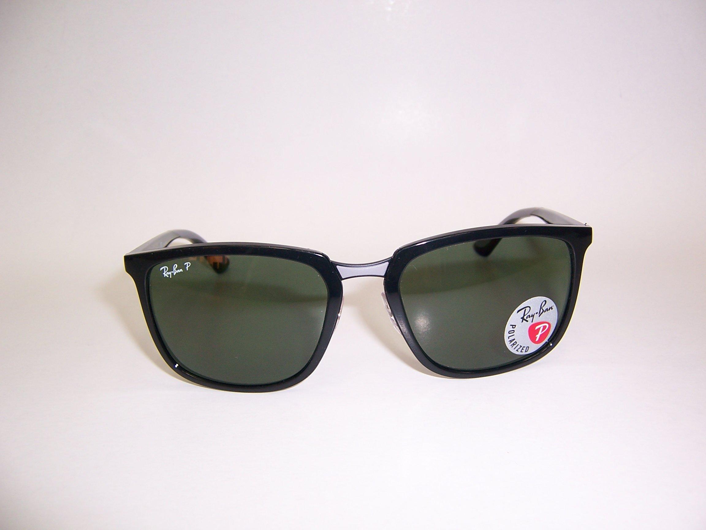 光寶眼鏡城(台南)Ray-Ban大塑版偏光太陽眼鏡,有金屬鼻墊RB4303/601/9A,LUXOTTICA公司貨