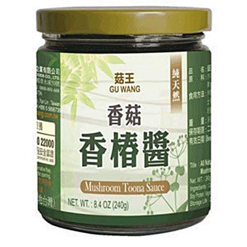 《小瓢蟲生機坊》菇王 - 香菇香椿醬 240g 罐 調味品 醬料