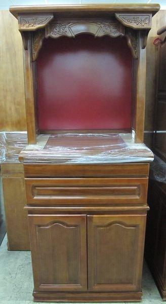 仙聖佛 2尺9 神櫥 神桌佛桌神櫥佛具 公媽桌 歡迎訂做
