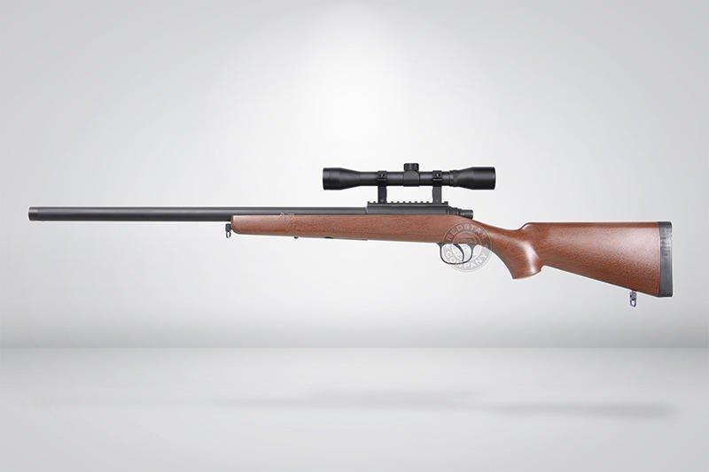 台南 武星級 BELL VSR 10 狙擊槍 手拉 空氣槍 狙擊鏡 仿木(倍鏡瞄準鏡BB槍BB彈玩具槍長槍步槍卡賓槍
