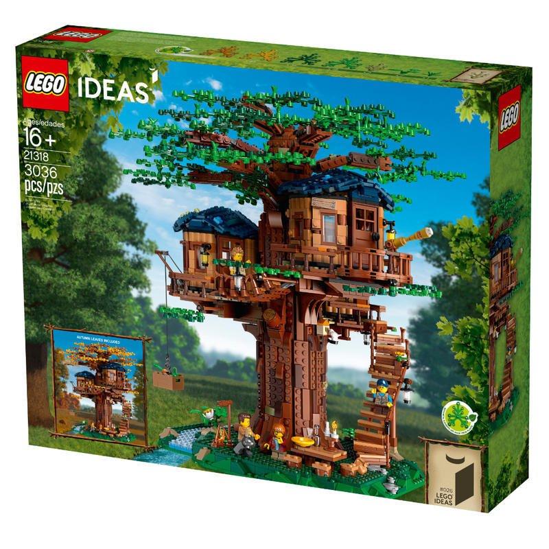 (全新未拆) LEGO 樂高 21318 IDEAS 系列 樹屋 lego ideas