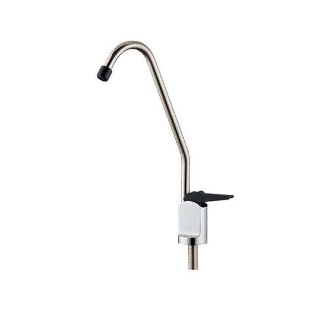 按壓式 扁式鵝頸龍頭 RO逆滲透 一般淨水器 皆可