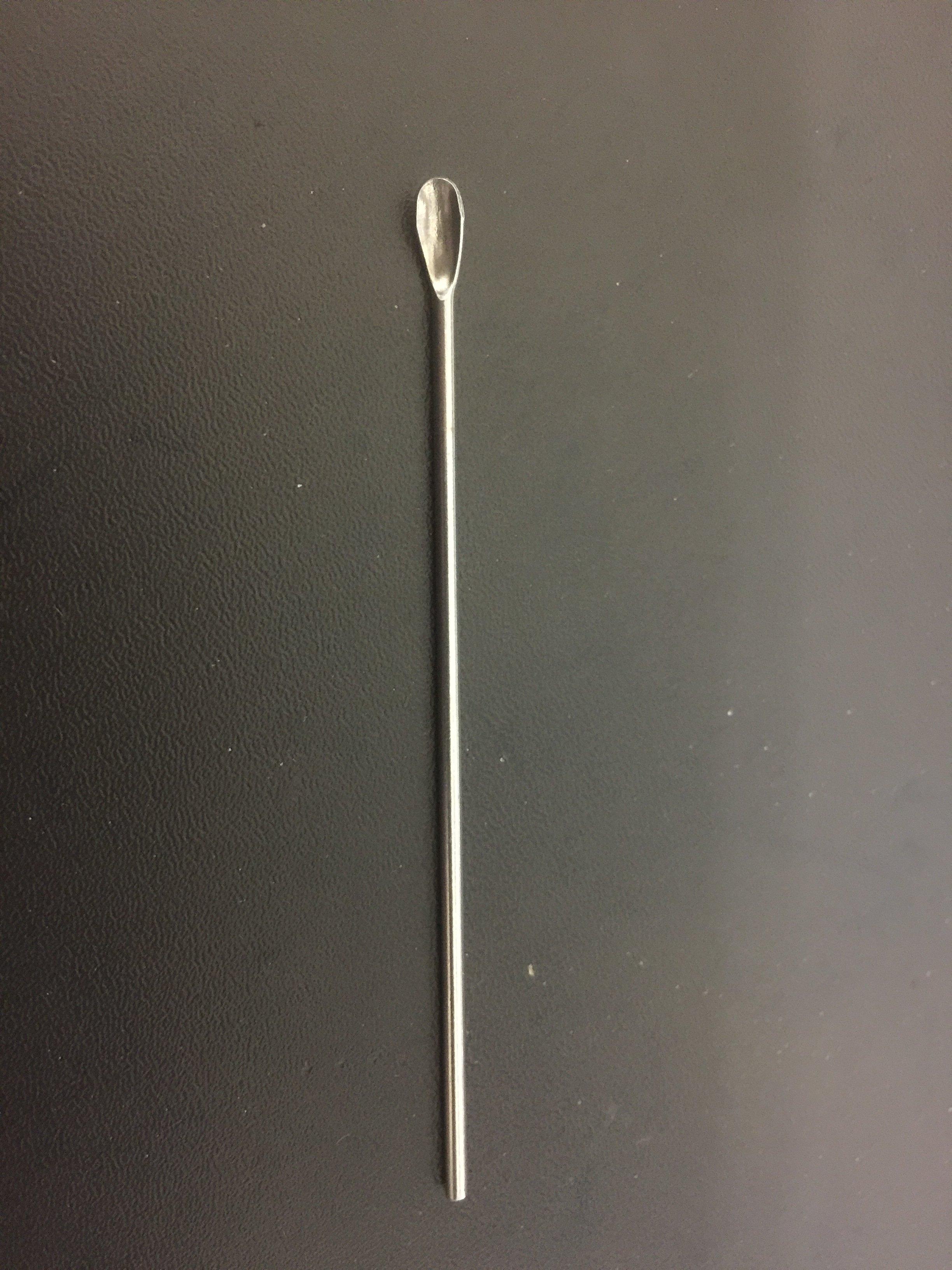 美麗無限 不銹鋼 大耳勺 耳挖 美容化妝用具 小藥粉勺 87mm