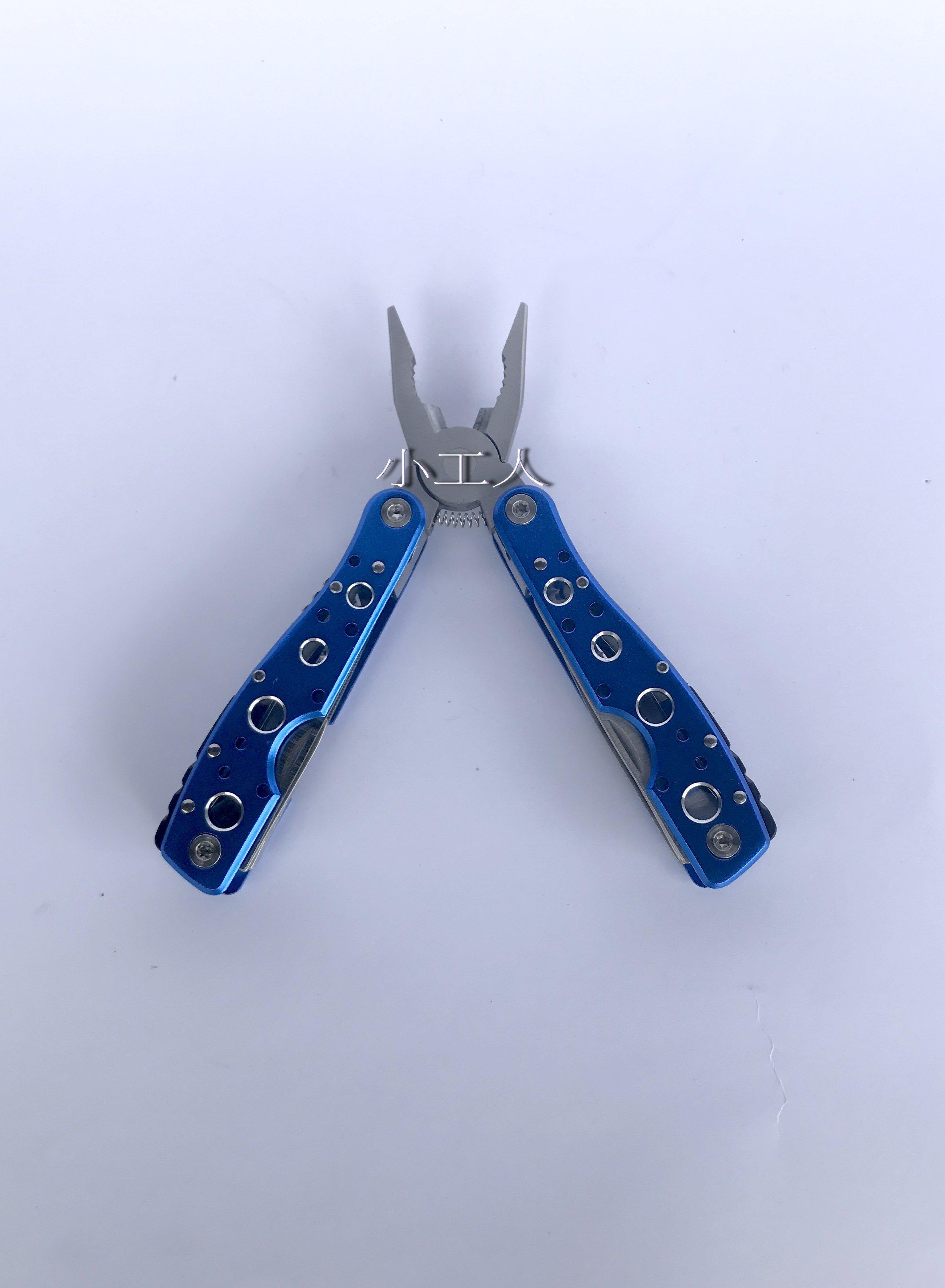 【瑪太】15用戶外多 鉗子 摺疊工具組 尖嘴鉗 鉗子 起子 鋸子 方便好攜帶
