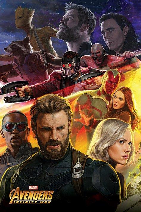 海報 英國 海報 PP34301(復仇者聯盟 Avengers Infinity War 無限之戰 )