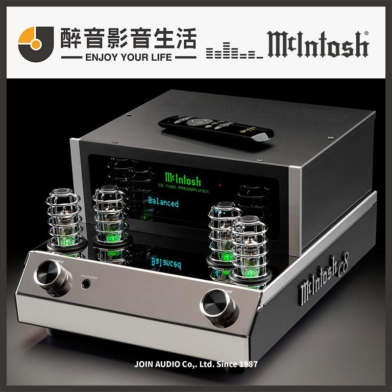 【醉音影音生活】美國 McIntosh C8 真空管前級擴大機.台灣公司貨
