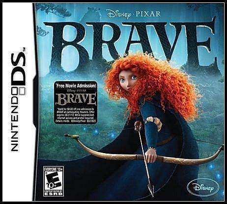 NDS 全新美版《迪士尼》【勇敢傳說】
