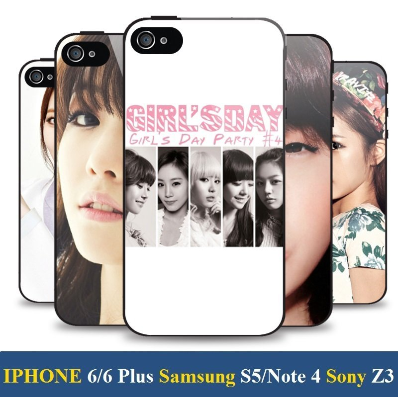 《City Go》Girl's Day 素珍、Yura、珉雅、惠利 手機殼 iPhone 5 6 Plus note 4